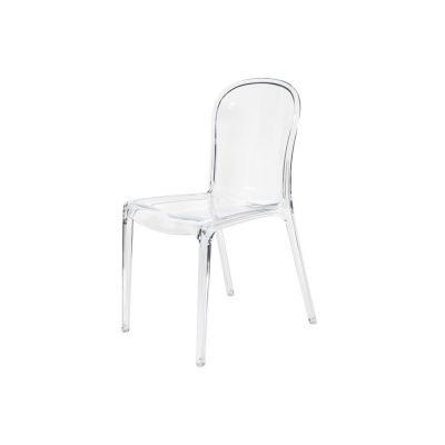Ogromnie Krzesło Designerskie MONA LISA transparentne bezbarwne - ARTDECO KQ63
